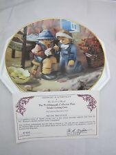 "M.J. Hummel ""Tender Loving Care"" Plate #M7488 Little Companions Collection Rare!"