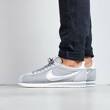 NIKE CLASSIC CORTEZ NYLON PREMIUM Trainers Gym Casual - UK 7.5 (EUR 42) Grey