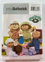 Butterick 3932 Cabbage Patch Kids Baby Doll Clothes Sewing Pattern Uncut