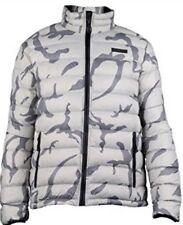 *NEW TAGS CAT BROOKLYN DOWN LIGHTWEIGHT PACKABLE CAMO JACKET S*