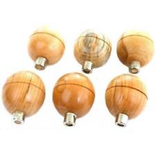 Round Wood Graver Handles Engraving Jewelers Jewelry Design & Repair Tools 6Pcs