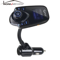 Wireless Bluetooth FM Transmitter Radio Adapter Car Kit MP3 Player USB Charger
