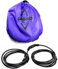 "HARMONY Lasso SOT Kayak Security Locking Cable 192"" Anti-Theft Tamper Proof Lock"