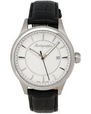 Montegrappa Fortuna Steel Watch Men's Watch Swiss Made IDFOWALJ
