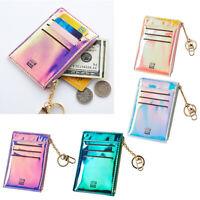 Portefeuille Femmes Porte-monnaie avec Pendentif Poche Zippée Cadeau pour