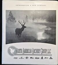 North American Archery New Dealer Catalog (1999) Fred Bear, Satellite, G.Eagle