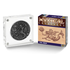 2018 Mythical Creatures Siren 2 oz Antique Finish High Relief Silver Coin BIOT