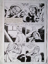 A L'ARME BLANCHE  SPECTACULAIRE PLANCHE GEANTE ELVIFRANCE  PAGE 11