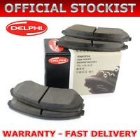 FOR SSANGYONG RODIUS 2.7 XDI 4WD (2005-) SET OF REAR DELPHI LOCKHEED BRAKE PADS