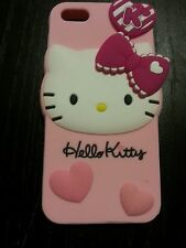Cute Pink Hello Kitty Melody Cartoon Soft Silicone Cover Case For Iphone 5 5S