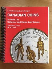 2013 Charlton catalogue of Canadian coins vol. 2. Collector and Maple Leaf issue