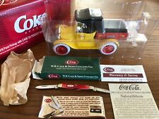 CASE XX 6201 Knife & Coca Cola ERTL 1918 Ford Pickup Collectable Set #0342 NEW