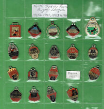 #T306.  NORTH SYDNEY BEARS RUGBY LEAGUE CLUB MEMBER BADGES 1969 - 81, 1983 - 87