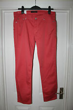 "New Ladies Pink Levi Staruss & Co Jeans Size 32"" Waist 32"" Leg Too Superlow 524"