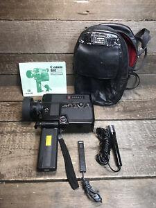 Canon Canosound 514XL-S Super 8 Film Camerafor Repair Broken Battery Terminal