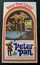 1973 PETER PAN LIVES Musical Fantasy On Stage Brochure Advertisement