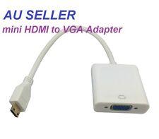 Mini HDMI Male to VGA D-SUB Female Cable Adapter Converter for PC