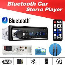 Sigle 1Din Bluetooth Car Stereo Audio In-Dash FM Aux Input USB MP3 Radio Player