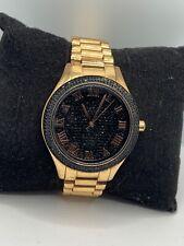 Michel Kors MK3320 Women's Stainless Steel Analog Black Dial Quartz Watch RU117