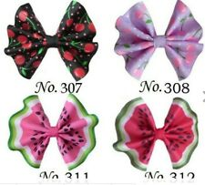 """50 BLESSING Girl 3"""" Fan Hair Bow Clip Unicorn Wholesale L.O.L Surprise Doll Baby"""