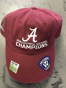 University of Alabama Crimson 2015 National Champions Cap