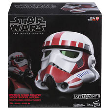 Star Wars Black Series Shock Trooper Electronic Helmet * Brand New 2019 mask WOW