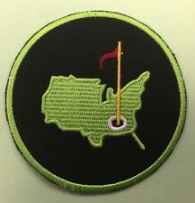 AUGUSTA GOLF PATCH IRON ON SEW ON  US SELLER FREE SHIPPING