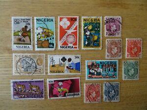 NIGERIA / NIGERIAN USED POSTAGE STAMPS