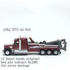 siku 2711 freightliner breakdown tow crane truck metal toy factory scale 1/55