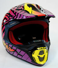 Fly Racing Helmet Three 4 Wild, Extra Large, XL