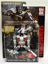 Transformers Combiner Wars PROTECTOBOT GROOVE Collection D Class Gift Toy Robots