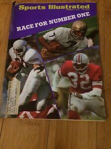 Sports Illustrated November 9 1970 Joe Theismann ND Jack Tatum Ohio State