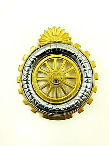 Argentine Automobile Club Grill Badge Argentina Grille #119A