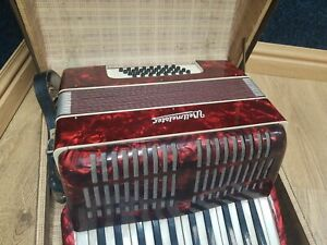 Accordion Weltmeister with case.