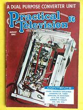 PRACTICAL TELEVISION - August 1960 - A Dual Purpose Converter Unit - Vintage Mag