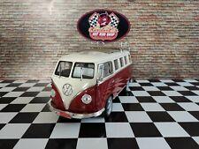 1:18 VW T1 Bus Bully Samba Porsche Felgen Dachgepäckträger Custom Tuning Umbau