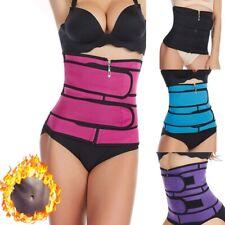 Women Waist Trainer Sauna Sweat Belt Sport Control Body Shaper Slim Belts Wear