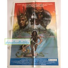 The Sword and the Sorcerer 1982 Original Movie Poster 27X41 One Sheet Folded
