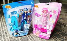 RARE Smiffy's Lazy Town - Sportacus + Stephanie Figures & Accessories Set NEW