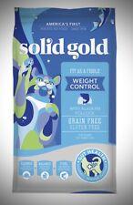 New listing Solid Gold Weight Control Grain Free Dry Cat Food Bag Sample 2 Oz Alaska Pollock