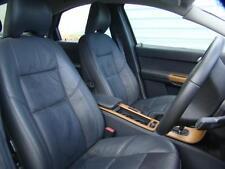VOLVO S40 LEATHER SEATS & 4 DOOR TRIMS, BLACK, 09/07-08/12