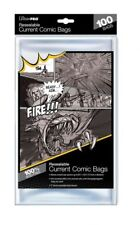 100 pochettes Ultra Pro Resealable Current Comic Size bags 174 x 266 mm AW6521