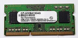 CF-WMBA1304G 4GB Memory for CF-31 CF-31 CF-19 CF-C2 CF-53 CF-52 Panasonic OEM NO