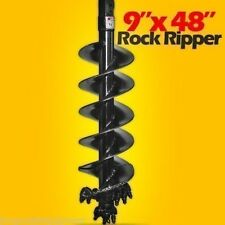"9"" X 48"" Rock Ripper Auger Bit,2"" Hex Drive,Extreme Duty Mfg By Pengo,In Stock"