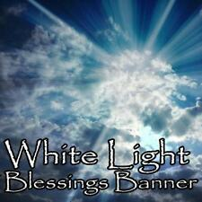 White Light Blessed Cloth Happy Peace Luck Love Happiness Joy Positive Energies