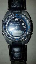 Casio AMW-700 Fishing Timer Watch Moon Phase Countdown Alarm 100M WR Cloth