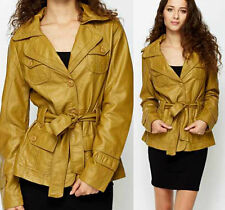 Button Trench Coat Petite for Women