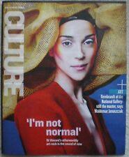 Annie Clark aka St Vincent  – Sunday Times Culture magazine – 19 October 2014