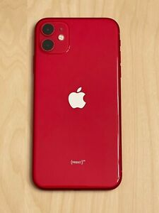 Excellent Condition Apple iPhone 11 (PRODUCT)RED - 128GB (Factory Unlocked)
