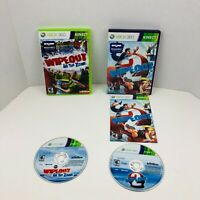 Wipeout In the Zone And Wipeout 2 Microsoft Xbox 360 Video Games Lot X2